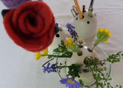 Blumen- und Stiftehalter